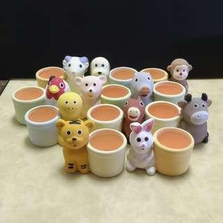 Used Ceramic Pots