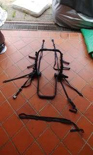Car bicycle carrier