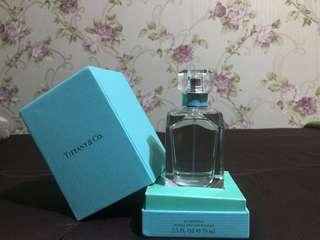 Authentic tiffany & co perfume 75ml stored for a couple of years or so