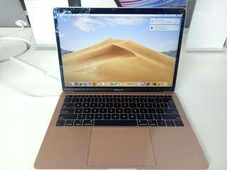 Macbook Air 13 inci gold bisa di kredit