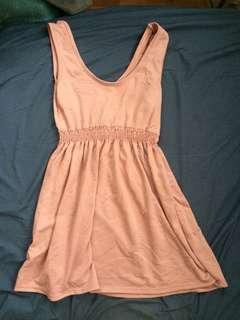 🚚 豆沙色背心裙