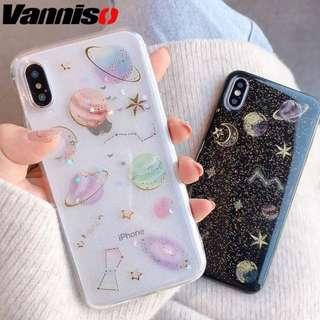🚚 /PO/ Soft Glitter Space Phone Case
