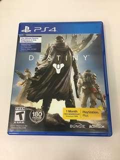 PS4 Game Destiny