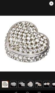 Heart-shaped Trinket Box