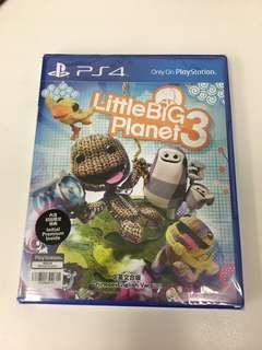 PS4 Game Little Big Planet 3 (NEW) 全新