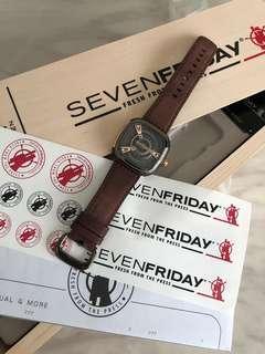 [REDUCED‼️]Sevenfriday SF M2/2 Rosegold Men's Watch