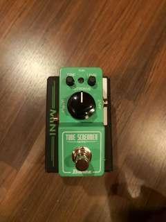 Ibanez Mini Tube Screamer overdrive guitar effect