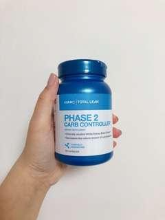GNC 卡路里控制配方 阻隔澱粉 瘦身塑型 避免過多卡路里轉為脂肪 GNC PHASE 2 Carb Controller™️
