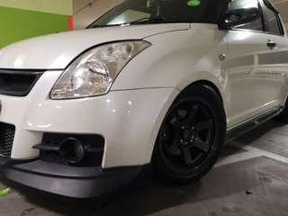 Suzuki swift foglight tint