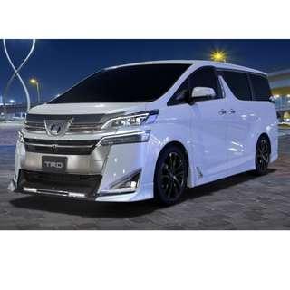TRD Bodykit for Toyota Vellfire