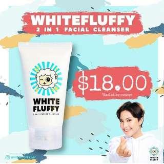 🚚 White Fluffy