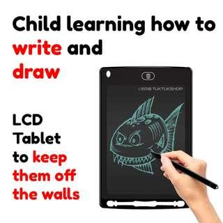 Kids Doodle Board Drawing Tablet Writing Learning Teaching Tool