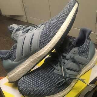 Adidas Ultra Boost Ash Grey UK10