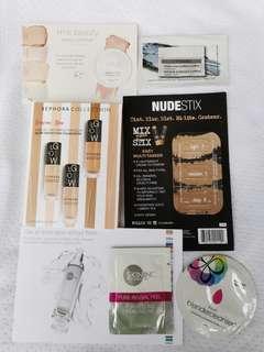 Makeup and Skincare Sample Bundle A