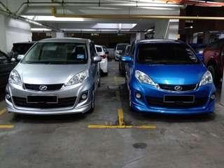 Perodua Alza for Rental