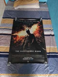 Poster Film Batman The Dark Knight Rises (ada 2)
