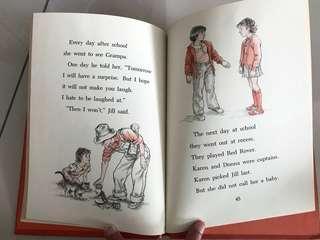 Vintage children book I hate Red Rover