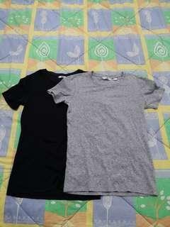 Uniqlo Plain T-shirts
