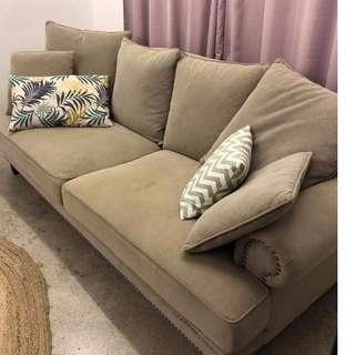 Sofa for sale - less than a year old.