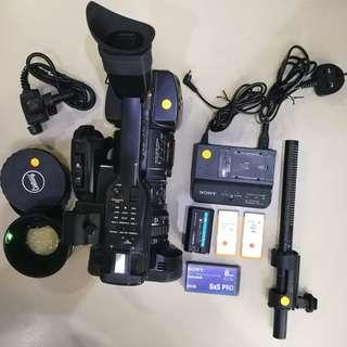 🚚 Used Sony PMW-EX1 Compact Full-HD Camcorder with bundle. UP $13,999