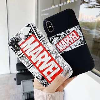 🚚 /PO/ Marvel SILICONE Phone Case