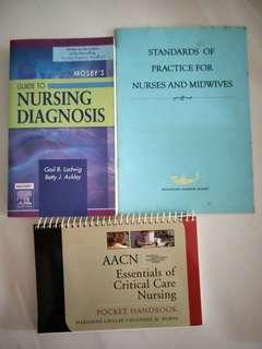 🚚 Mosby's Guide to Nursing Diagnosis, AACN Essentials of Critical Care Nursing Pkt Hbk