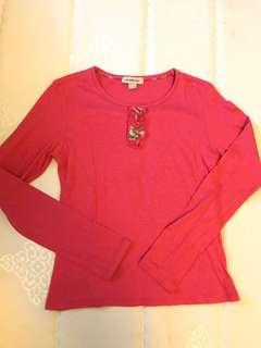 Burberry Girls Tee long sleeves ruffles Ralph Petit Bateau Juicy Gap Zara H&M