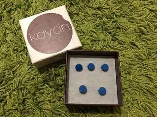 Kayan Butang Baju Melayu Metal Studs Buttons (5 pieces)