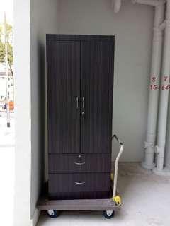 FREE DELIVERY  2 Door Wardrobe Cupboard