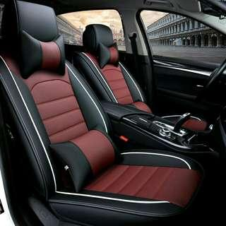 Free shipping. PU leather car seats cover. 5seaters