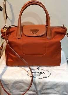 Original Prada body bag and hand bag
