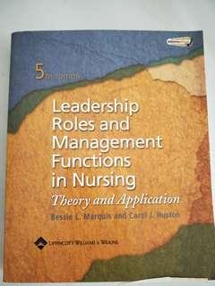 🚚 Leadership Roles & Management Functions in Nursing