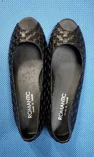 🚚 編織魚口鞋