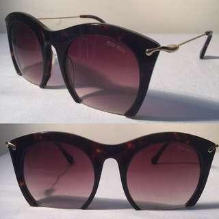 🚚 Miu Miu Sunglasses MU14NS 52[]23 Made in ITALY