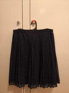 Polka dot mini skirt #swapAU