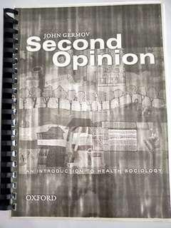 🚚 Second Opinion-An Introduction to Health Sociology