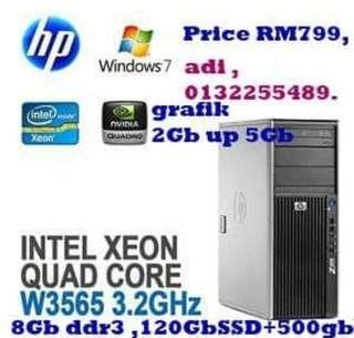 Hp workstations. Z400.serious buyer call 0132255489.