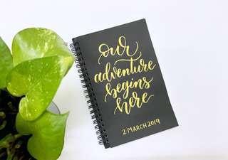 Personalized notebook #shero
