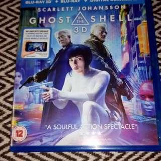 Ghost In The Shell (3D+Bluray+Digital copy) Region ABC