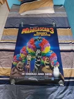 Poster Film Madagascar 3