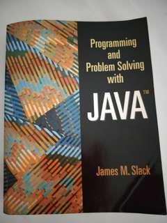 🚚 Programming & Problem Solving with Java