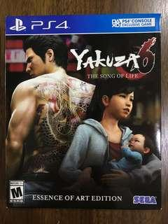 PS4 Yakuza 6 : The Song Of Life (Essence Of Art Edition)
