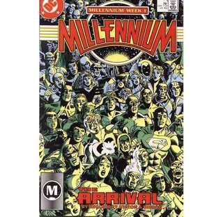MILLENNIUM #1 (1987) 1st Issue!