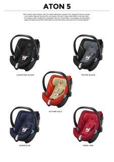 Original CYBEX Aton 5 Infant Carrier (Local 2 Years Warranty)💯💯