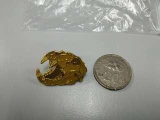 Snake Skull Pin Badge