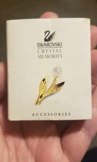 Swarovski 心口针