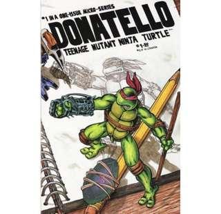 DONATELLO #1 (1986) 1st Issue!