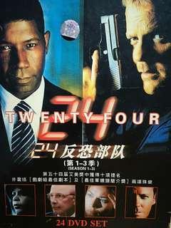 反恐部隊(第1-3季)共24隻DVD