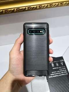 🚚 Samsung S10 & S10+ Carbon Fibre Case