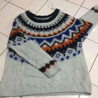 Knitted Sweater Cotton on